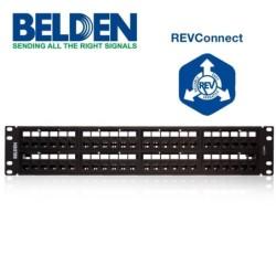 Soporte de Alivio azul para cables RG-58/U, RG-142/U.